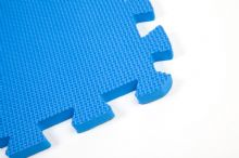 30 x 30 CM SMALL BLUE INTERLOCKING EVA SOFT FOAM EXERCISE FLOOR MATS GYM GARAGE OFFICE KIDS PLAY